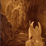 """The Resurrection"" ~ woodcut by Dore"