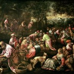 Jesus fed the multitudes before saying we must eat his flesh